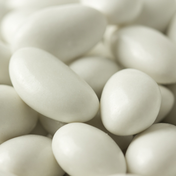 White Jordan Almonds