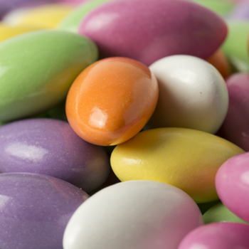 Assorted Colors Jordan Almonds