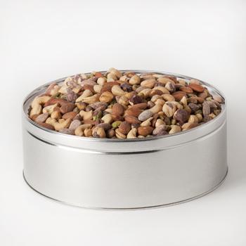 Nut Passion Gift Tin (Large) - Super Nut Mix